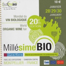 Millésime Bio World Organic Wine Trade Show