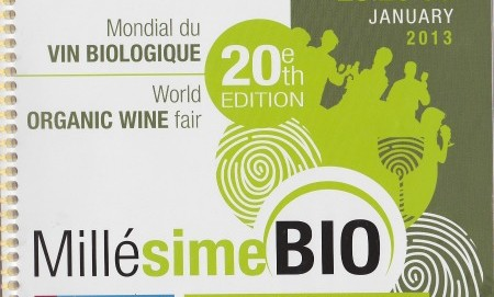 Millsime Bio World Organic Wine Trade Show